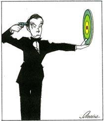 Une illustration du dessinateur Avoine
