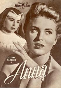 Affiche de Anna avec Silvana Mangano