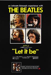 Affiche de Let it Be, de Michael Lindsay-Hogg