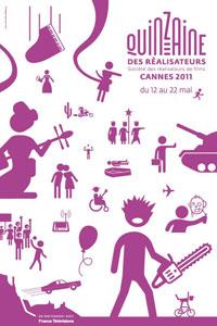 Affiche de la Quinzaine des réalisateurs 2011