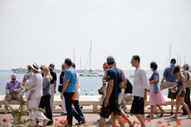 La Croisette à Cannes (c) Sébastien Dolidon