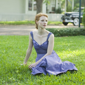 Jessica Chastain dans Tree of Life