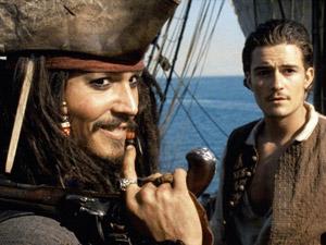 Johnny Depp dans Pirates des Caraïbes