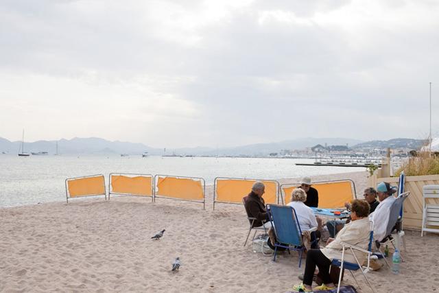 La plage de la Croisette (c) Sébastien Dolidon