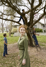Jessica Chastain dans The Tree of Life