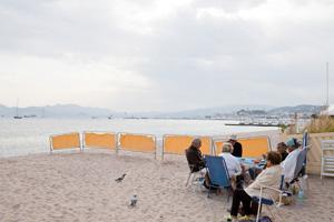 Des vieux sur la Croisette, festival de Cannes 2011