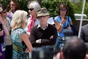 Woody Allen à Cannes