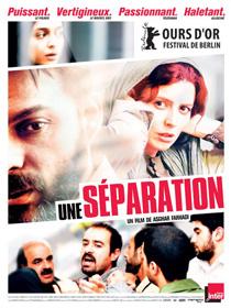 Affiche du film Une séparation, de Asghar Farhadi