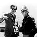 Clint Eastwood et Don Siegel sur le tournage de L'Inspecteur Harry