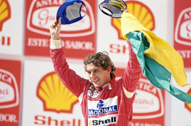 Ayrton Senna (c) Norio Koike