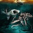 """Bande-annonce de Mega Shark versus Giant Octopus, du grand cinéma made in USA réalisé par Jack Perez en 2009. Avec Lorenzo """"le Rebelle"""" Lamas. Vidéo à regarder impérativement jusqu'au bout."""