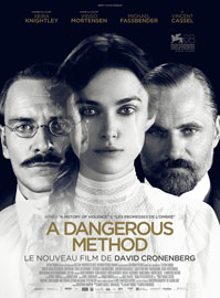 Affiche du film A Dangerous Method de David Cronenberg
