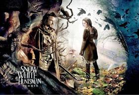Blanche Neige et le chasseur, avec Kristen Stewart
