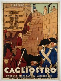 Affiche de Cagliostro de Richard Oswald