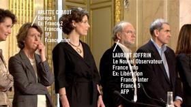 Laurent Joffrin et Arlette Chabot, ou le pluralisme de la presse...