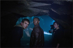 Alex Russell, Michael B. Jordan et Dane DeHaan dans Chronicle