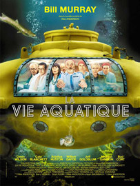Affiche de La Vie aquatique de Wes Anderson