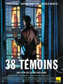 Affiche du film 38 témoins de Lucas Belvaux