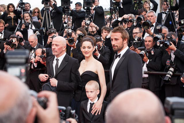 Jacques Audiard, Marion Cotillard et Matthias Schoenaerts Lo-paul Ridet