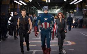 Trois des Avengers