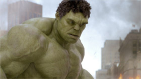 Hulk aka Bruce Banner dans The Avengers