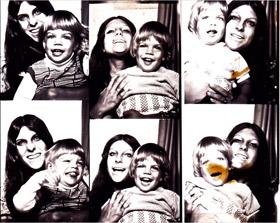Jonathan Caouette et sa mère