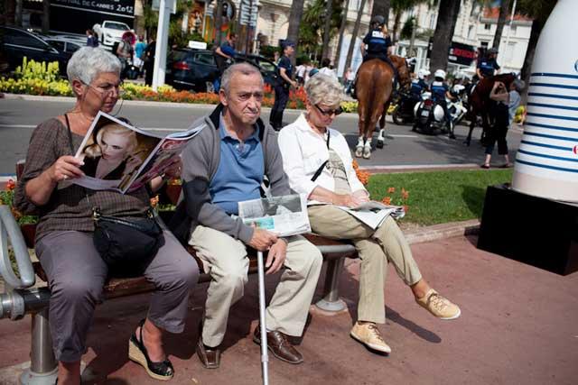 La Croisette s'amuse (c) Cannes Snapshots