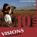 Affiche du festival Visions sociales 2012