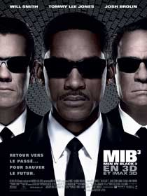Affiche du film Men in Black 3, de Barry Sonnenfeld