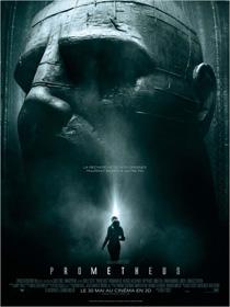 L'affiche de Prometheus, de Ridley Scott