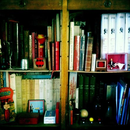 La bibliothèque de magie de Bruno Podalydès