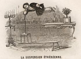 La suspension ethéréenne du fils de Robert Houdin