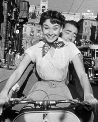 Audrey Hepburn dans Vacances romaines