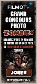 Grand concours photos Zombies sur Filmo TV