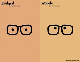 Woody vs Godard