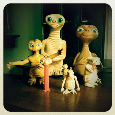 La collection E.T.