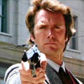 Clint Eastwood dans L'Inspecteur Harry