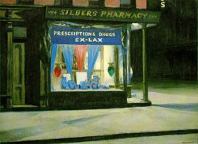 Drug Store, Edward Hopper
