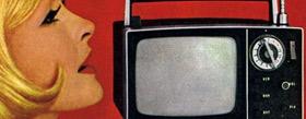 Photo tv vintage