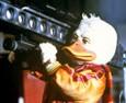 Bande-annonce de Howard… une nouvelle race de héros (Howard the Duck), film américain réalisé par Willard Huyck en 1986. Une production George Lucas, qui avait besoin d'argent pour payer son...
