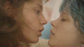 Léa Seydoux et Adèle Exarchoupoulos dans La Vie d'Adèle