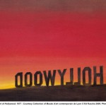 Back of Hollywood de Ed Ruscha