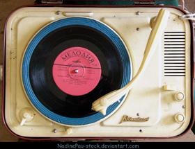 Russian Gramophone by Nadine Pau