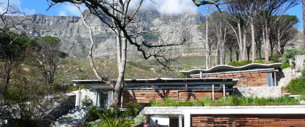La Table Mountain à Cape Town