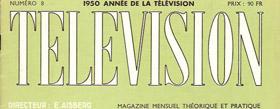 Le mensuel de la télévision 1950