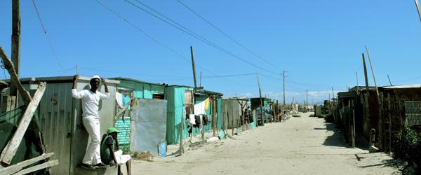 Les townships de Cape Town