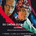 Une vingtaine d'affiches de façade de cinéma conservées par la Cinémathèque de Toulouse se voient aujourd'hui exceptionnellement sorties des archives pour être déroulées aux yeux du public du 1er février...