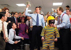Le lancer de nain du Loup de Wall Street