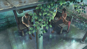 The Garden of Words, de Makoto Shinkai