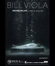 Affiche Bill Viola au Grand Palais
